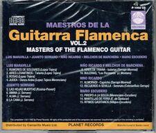 Maestros De La Guitarra Flamenca   VOL.2  BRAND NEW   CD