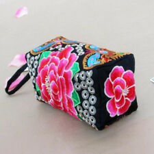 Vintage Women Ladies Layer Small Coin Purse Wallet Card Phone Holder Clutch Bag