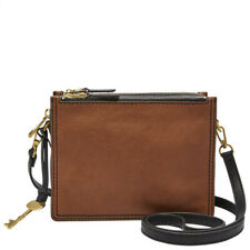 Fossil ZB7295200 Womens Campbell Brown Crossbody