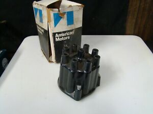 NOS AMC JEEP V8 DISTRIBUTOR CAP-MARKED DELCO REMY 2769047R PATENT