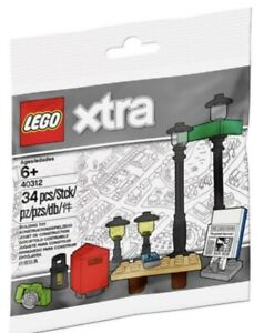Lego xtra 40312 Laternen Polybag insgesamt 34 Teile