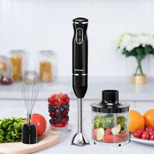 Stabmixer Set Mixstab Pürierstab Handmixer Mixer Zerkleinerer Küchenmaschine