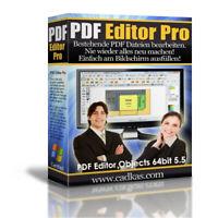 PDF Editor PRO Objects CAD-KAS -  Besser als Adobe PDF Pro