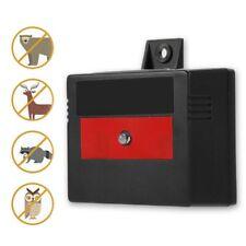 Red light Solar Power Led Deterrent Light Night Animal Repeller