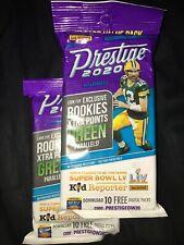 NFL Panini Prestige Football 2020 Fat Pack 30 Card Green Parallels Rookies