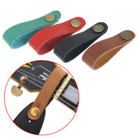 Leather Strap Hook For Acoustic Electric Guitar Headstock Tie Belt Guitar AcceIJ