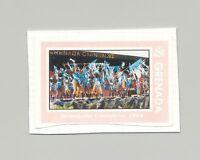 Grenada #2203 Carnival, Dance, Costumes 1v Imperf Proof on Card