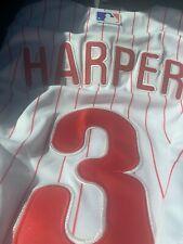 Bryce Harper Philadelphia Phillies #3 Jersey Large Stitched