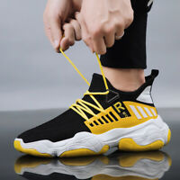 Men's Fashion Sneakers Casual Dad Shoes Ultralight Breathable Sports Athletic