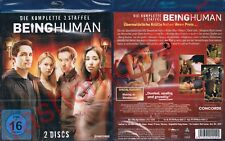 Blu-Ray BEING HUMAN US/USA TV SERIES THIRD SEASON 3 Meaghan Rath Region B/2 NEW