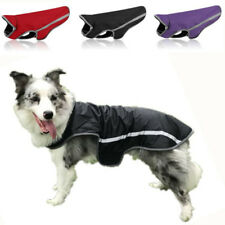 Pet Cat Dog Coat Warm Thick Waterproof Jacket Raincoat Snow S-3XL