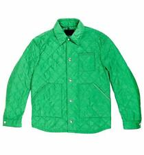 Prada Men green basic jacket 48 IT 38 US New