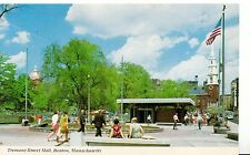 America Postcard - Tremont Street Mall - Boston - Massachusetts - Ref BR202