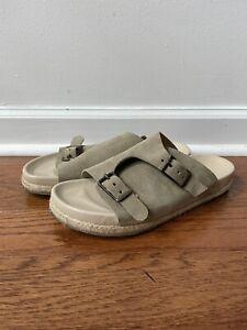 Yuketen Zurich Sandals Birkenstock Beige Vachetta Suede Mr Porter Used 42 9