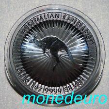 (311) AUSTRALIA 2016 1 DOLAR 1 ONZA PLATA PURA CANGURO
