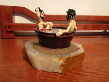 """Ron Lee """"Bathing Buddies"""" #450 Signed by Ron Very RARE Vintage 1985"""