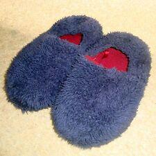 BOY'S NIGHT Pantofole Misura 10-11 Regno Unito KIDS BLU MORBIDA Indoor Scarpe da letto