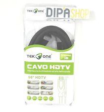 Cavo Hdmi - Hdmi TeKone TO-HD506C Cavetto Angolato Angolare Lunghezza 3m hsb