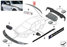 Genuine BMW F10 2011+ 5 Series Sedan OEM M Performance Rear Spoiler Carbon Fiber