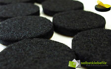 Felt Gliders round Diameter 42mm High Adhesive Of 4 Pc. Industrial Quality 6mm
