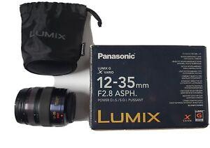Panasonic 12-35mm F2.8 Power O.I.S Micro 43