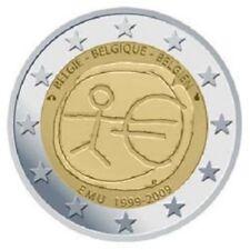 """BELGIE SPECIALE 2 EURO 2009 UNC  """"10 JAAR EMU"""""""