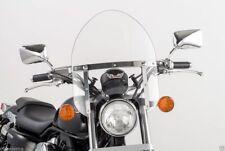 "Yamaha V-Star XVS 950 & 1300 VSTAR - Small 14"" Clear Mini Police Windshield"