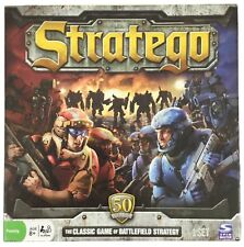 Stratego Board Game, Sci Fi Edition, 50th anniv, classic war strategy - Free S&H