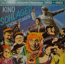 """KINO SCHLAGER - SCHÖNE STUNDEN 1952-1953  12""""  LP  (P649)"""