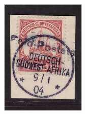 DSWA Wanderstempel Feld- Poststation 9.1.04 schwarz Luxus Briefstück BPP