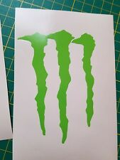 M monster decal sticker graphic