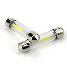 31-41mm 1.5W LED Car Ceiling Light 31-41mm COB  Interior Glass Lens Festoon Dome