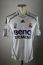 Real Madrid Trikot 2006-07 Gr. S Adidas Home jersey Shirt BENQ weiß