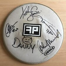 Faster Pussycat - Hand Signed Used Drum Skin
