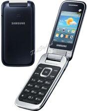 New Samsung GT-C3595 (Unlocked ) Black, Big Buttons Stylish Flip Mobile Phone UK
