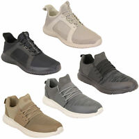 Mens Trainers Crosshatch Running Speed Lace Up Sneakers Sports Gym Casual Shoes