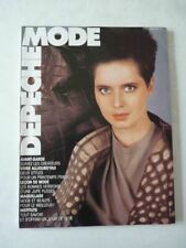 Magazine mode fashion DEPECHE MODE french #31 fevrier 1984 Isabella Rossellini