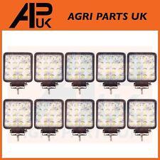10 X 48W LED Trabajo Luz Lámpara 12V luz de inundación 24V Cuadrado Remolque Offroad 4X4 SUV