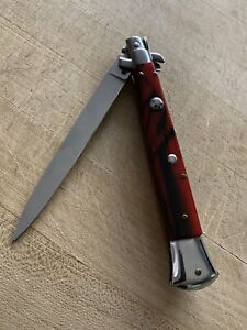 VINTAGE  FOLDING ITALIAN INOX STILETTO POCKET KNIFE KNIVES 🔪 Stunning