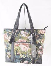 Tapestry Blossom Flower Design Handbag or Shoulder Bag Ext Pouch Signare