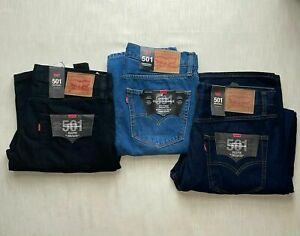 LEVIS 501 Straight fit Denim Gift  factory outlet Brand New