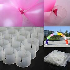 New 50 Pieces Balloon Connectors Arch Column Clips for Wedding birthday