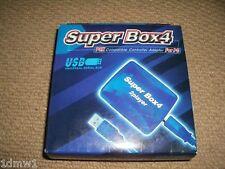 PC Port USB 2 PLAYSTATION 2 PS2 Contrôleur Adaptateur Nouveau!