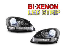DEPO 2009-2011 MERCEDES BENZ W164 ML LED Bi-XENON HID BLACK PROJECTOR HEADLIGHT
