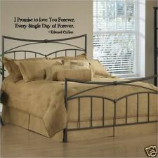 Wall Decal Twilight I Promise To Love You Forever Wall Lettering Wall Decor