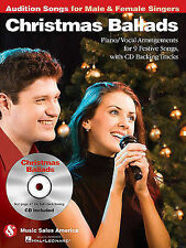 Christmas Ballads - Audition Songs for Male & Female Singers: Piano/Vocal Arrang