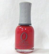 ORLY Nail Polish Color ROCK ON RED 40252 .6oz/18ml