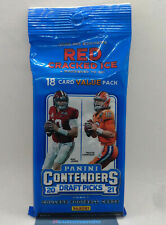 2021 Panini Contenders Draft Picks NFL Football Cards Sealed Cello / Fat Pack
