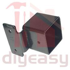 Security Fence Bracket 40x40 Black Hot Dip Gal Fencing X120