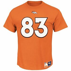 Wes Welker #83 Denver Broncos NFL Men's Eligible Receiver II Player T-shirt